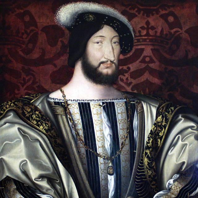 Painting of King Francis 1st